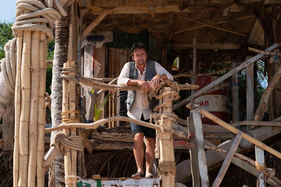 Richard Hammond in The Great Escapists